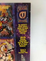 Vintage 1993 CREATOR'S UNIVERSE Uncut PROMO Cards Sheet Kubert Jusko Sears Nguye image 8