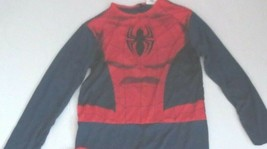 Marvel Ultimate Spiderman Child Jumpsuit With Mask - Size L (12-14) - NWT - $8.99