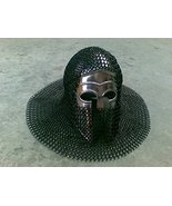 NauticalMart Greek Corinthian Brass Armor Helmet With Black Chainmail - $159.00