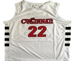 Steve Logan Cincinnati Custom Basketball Jersey Sewn White Any Size image 1