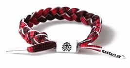 Rastaclat Borlin RC001BRLN Multi Red Plaid One Size Braided Shoelace Bracelet image 2
