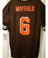 BAKER MAYFIELD OFFICIAL NFL JERSEY - FREE SHIPPING - $28.04