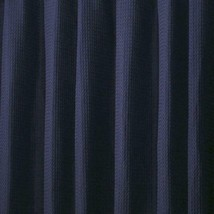 interDesign York Shower Curtain in Navy 20587 - $19.95