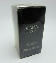 Giorgio Armani Code Eau De Toilette Spray Pour Homme 2.5oz/75ml Nib - $59.90