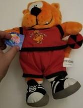 Vintage Heathcliff Stuffed Plush Animal nanco 1997 nwt Basketball outfit... - $27.83