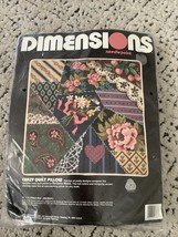 Dimensions needlepoint  2386 crazy quilt pillow NEW - $28.05
