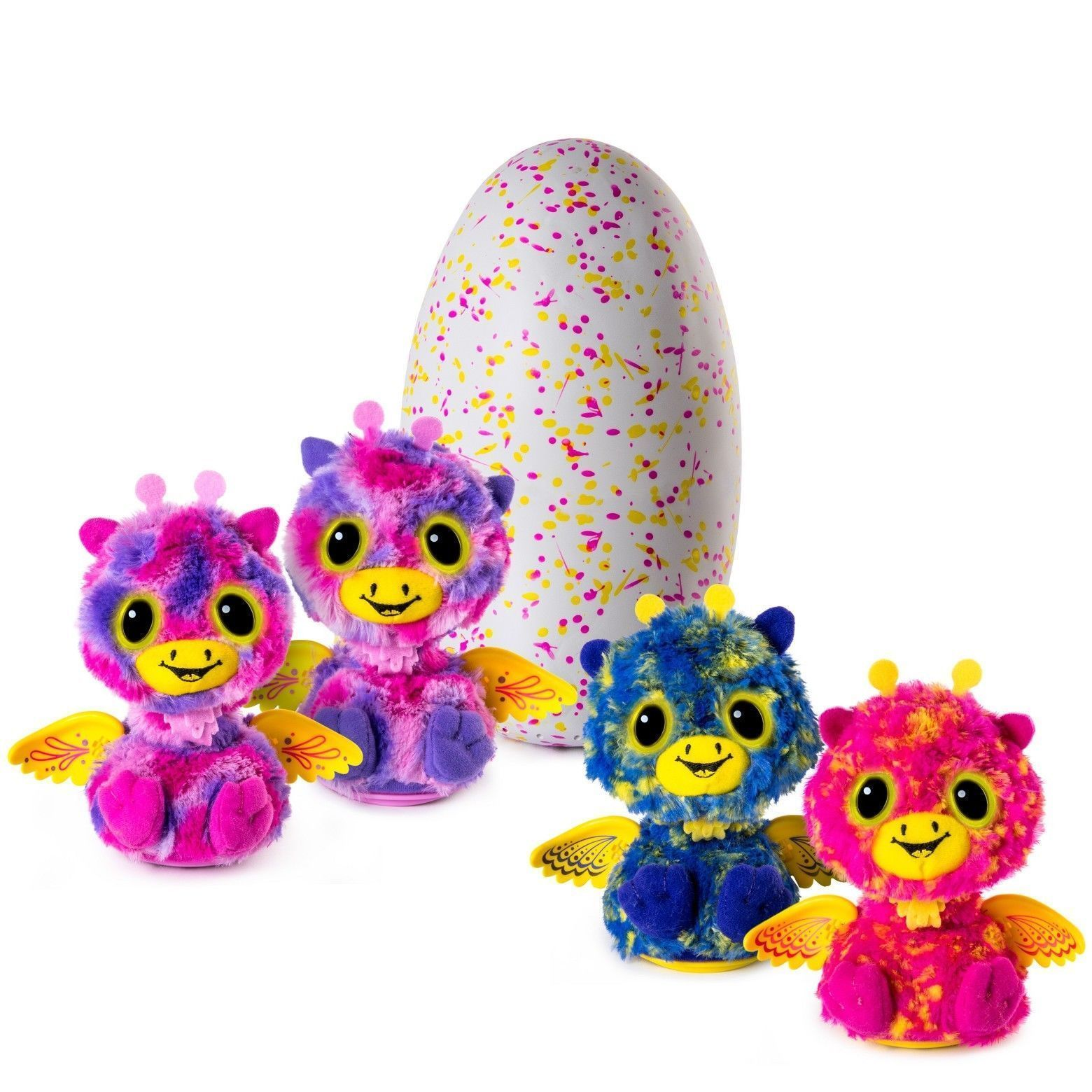 Hatchimals SURPRISE Giraven Hatching Egg By Spin Master with Twin Interactive