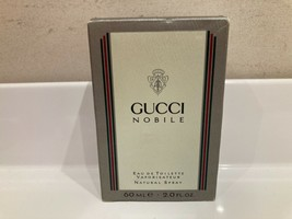 RARE VINTAGE GUCCI NOBILE EDT 2oz/ 60ml spray first edition - $296.01