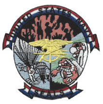 """3.5"""" Navy Seals Sea Air And Land Special Forces Embroidered Patch - $23.74"""
