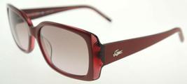 LACOSTE Maroon / Grey Sunglasses L625S 538 - $68.11