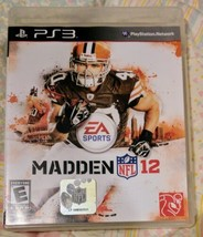 Madden NFL 12 - Playstation 3 PS3 Game - Complete & Tested - $2.94