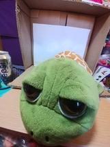 Petting Zoo Sea World Sea Turtle Plush Green Big Eyes - $7.00