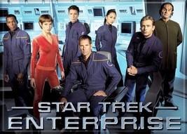 Star Trek Enterprise TV Series Main Crew / Cast Refrigerator Magnet NEW UNUSED - $3.99