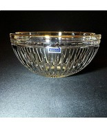 """1 (One) WATERFORD Marquis HANOVER GOLD Cut Crystal 8"""" Bowl 24K Trim - Si... - $47.15"""