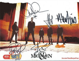 Of Mice And Men Group Band Signed Photo 810 Rp Autographed Austin Carlile ** - $19.99