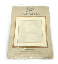 Something Special Candlewicking Kit #80101 Winter Scene Vintage - $19.79