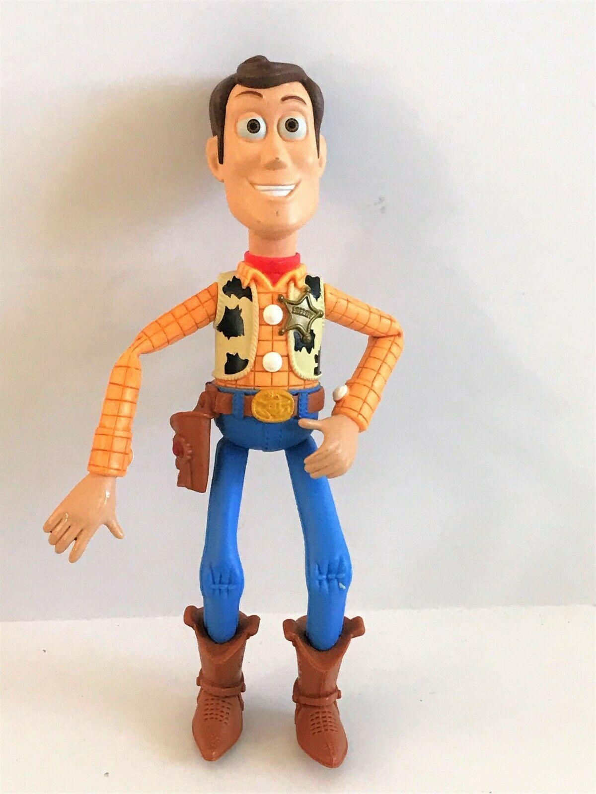 "1996 Mattel Toy Story Sheriff Woody 6.5"" Roundup Toy"