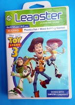 Leap Frog Leapster Toy Story 3 Learning Game  For Leapster And Leapster 2 - $9.99