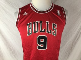 Chicago Bulls Luol Deng 9 NBA Basketball Youth Large Jersey Red Black Ad... - $24.74