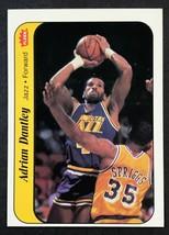 1986 Fleer Sticker #3 Adrian Dantley  Jazz - $2.92