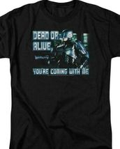 RoboCop Dead or Alive Retro 80's action movie graphic t-shirt MGM119 image 3