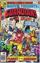 Marvel Presents: Guardians of the Galaxy Comic Book #5 Marvel 1976 VFN/N... - $11.64