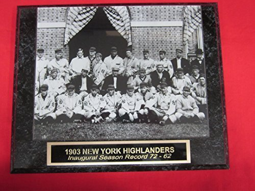 1903 New York Highlanders Collector Plaque w/8x10 Team Photo