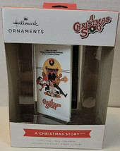Hallmark A Christmas Story Ornament Vhs Cassette Tape Movie Box Holiday 2021 New - $22.99