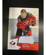 2020-21 Upper Deck Team Canada Juniors JUSTIN SOURDIF #4 Jersey - $5.89