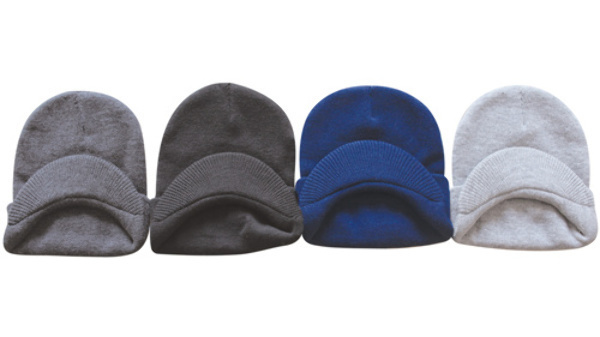 Case of [120] Adult Beanies - Visor, Assorted Colors