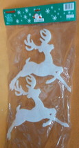 Forever Beautiful Christmas Window Shapes - Deer 4 Pieces#9640W UPC:0364... - $7.67