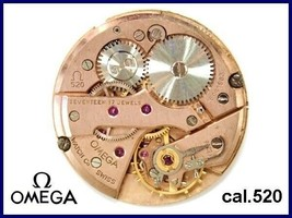 Genuine OMEGA Cal.520 Movement Manual winding Omega Watch Parts 164***** SN - $361.15