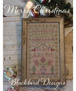 Merry Christmas #1 Christmas Sampler series cro... - $9.00
