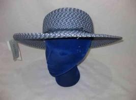 Great Women's Blue Wide Brim Hat Nine West - $46.26