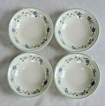 "2 Oneida Ava China Cereal Bowsl Flowers Floral 6 1/4"" - $9.89"