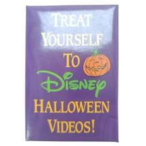Walt Disney's Treat Yourself To Halloween Videos Pinback Button - $14.75