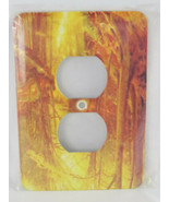 Outlet Cover 3d Rose Peter Monstads Golden Forest 2 PlugOutlet Cover - $9.89