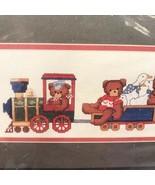 Teddy Bear Express Cross Stitch Kit CK175 Train Dale Burdett Nursery Kid... - $10.09
