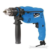 IMPACT Hammer DRILL VARIABLE SPEED ELECTRIC HEAVY DUTY SILVERLINE 500W W... - $23.01