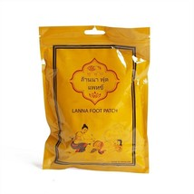 Lanna Thailand All Natural Herb Foot Patch Spa Pads (10 pcs)