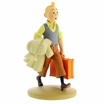 Tintin en route polyresin figurine Official Tintin product