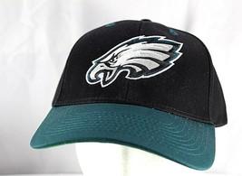 Philadelphia Eagle Black/Green NFL Team Baseball Cap Adjustable - $24.99