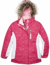 Free Country Girl's Boarder Jacket w/ Detachable Hood Outdoor Pink - $36.99