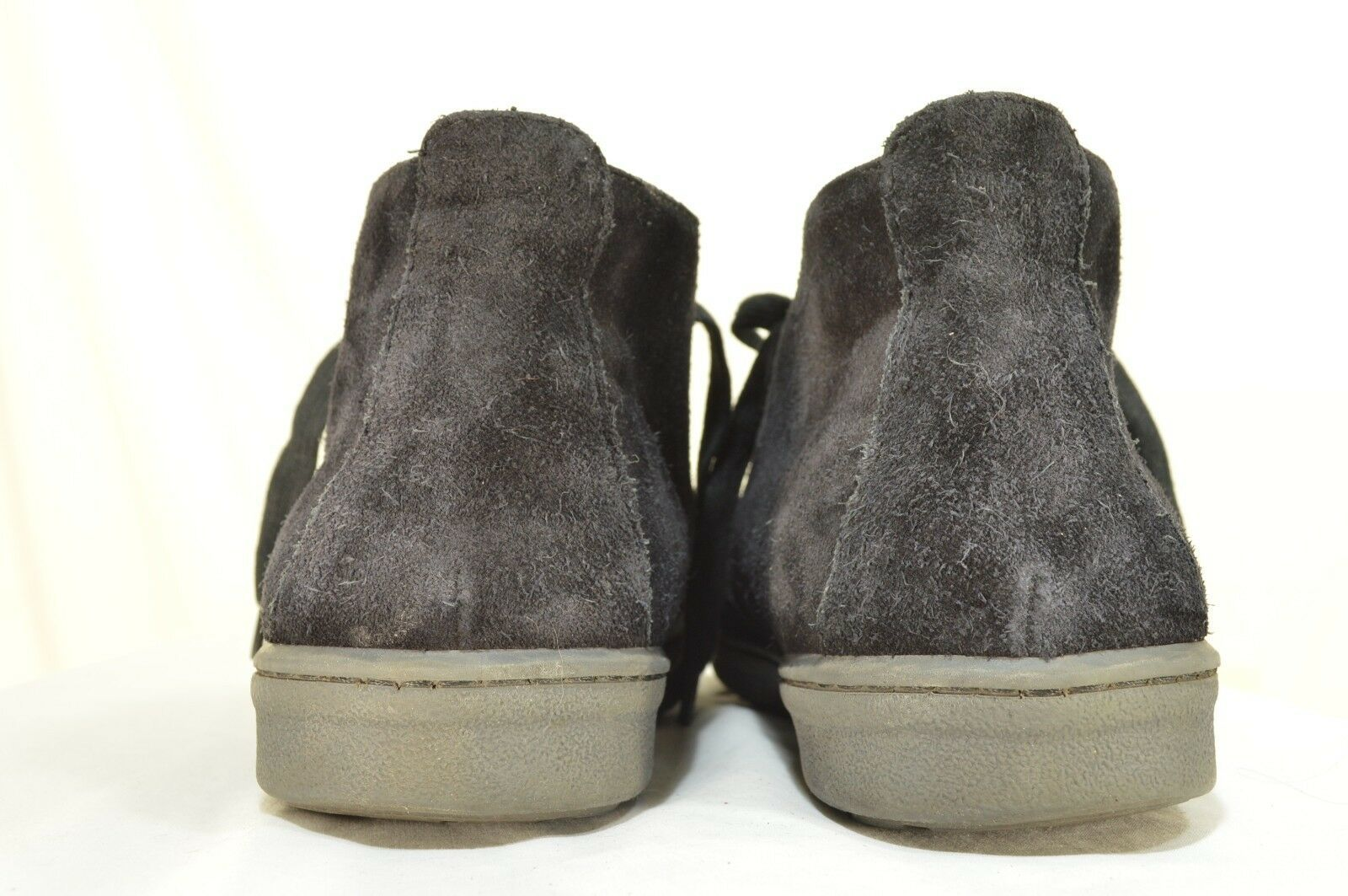 Vince shoes boots hi top US 8 EU 41 black suede leather upper leather lining image 8