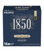 Folgers 1850 Lantern Glow Coffee Keurig 16 to 64 K cups Pick Any Size FR... - $19.99+