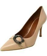 COACH WAVERLY PUMP with SIGNATURE BUCKLE HEELS CLASSIC SHOES US 7.5M / E... - $69.29