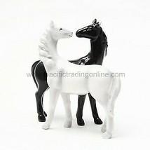 Horses Kiss Magnetized Salt and Pepper Shaker Set - $10.88