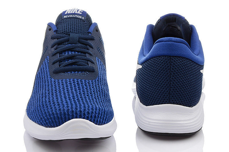 quality design 57777 52f2c Nike Neuf Revolution 4 Eu pour Homme Baskets Taille 9.5 Chaussures Course
