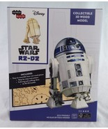 Lootcrate Exclusive Star Wars R2-D2 Collectible 3D Wood Model Incredi Bu... - $12.86