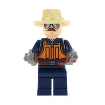 1Pcs Super Heroes Military Sgt. Slaughter With Weapon Fit Lego Block Min... - $6.99